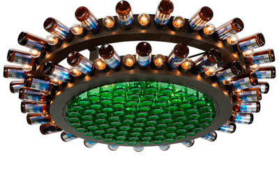 Meyda Beer Bottle Chandelier