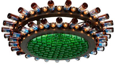 Meyda Beer Bottle Chandelier