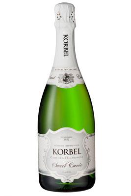 Korbel Sweet Cuvee California Champagne