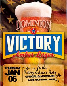 Victory Beer release