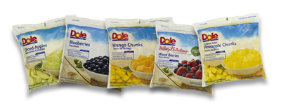 Dole Fresh Frozen Fruits