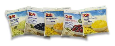 Dole Fresh Frozen Fruits