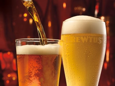Applebee's Brewtus draft beer