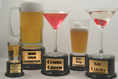Bar Drink Trophy