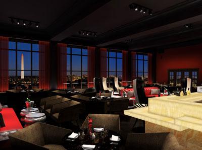 POV Bar at W Washington DC
