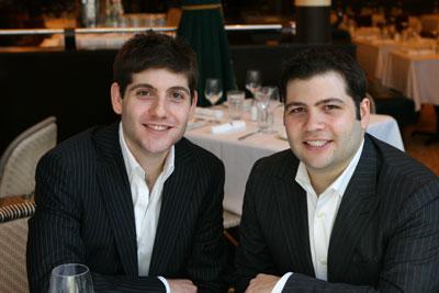 Jerrod and RJ Melman