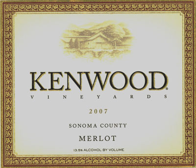 Kenwood Vineyards Merlot