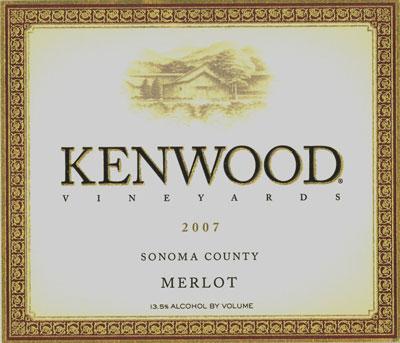 Kenwood Vineyards Merlot