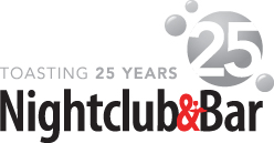 Nightclub & Bar 25th Anniversary Logo