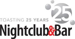 Nightclub & Bar 25th Anniversary Logo
