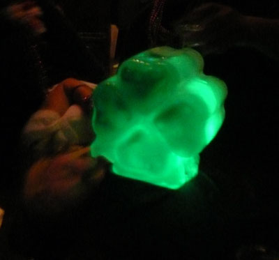 Shamrock Ice Luge