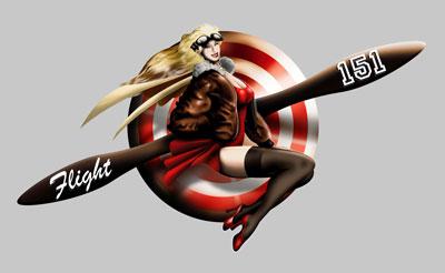 Flight 151 logo