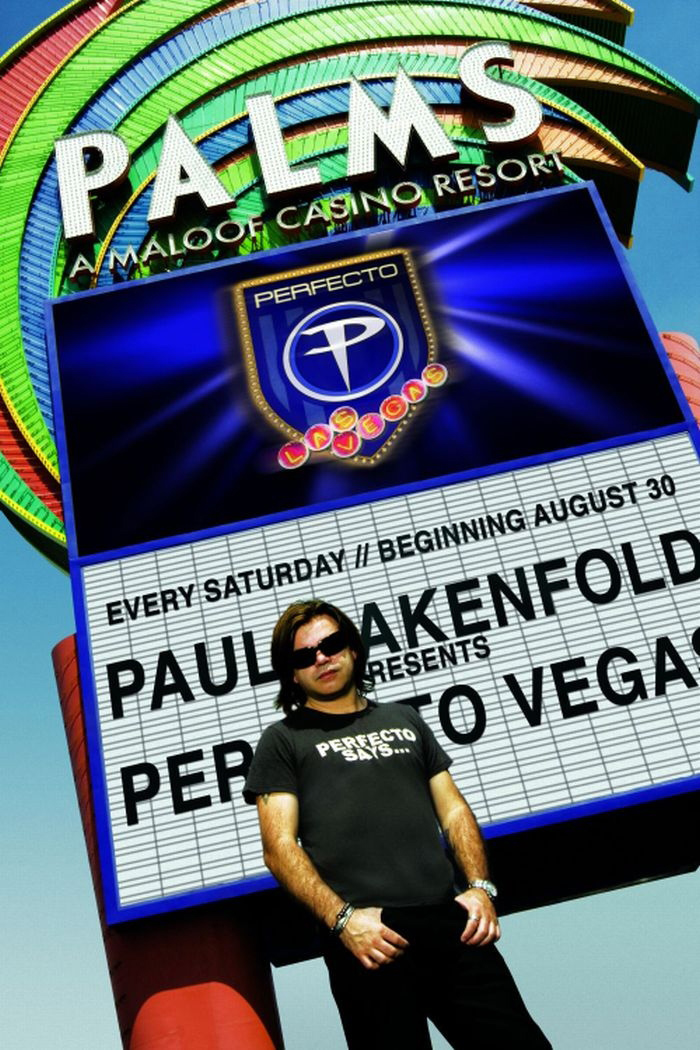 DJ Paul Oakenfold Rain Nightclub