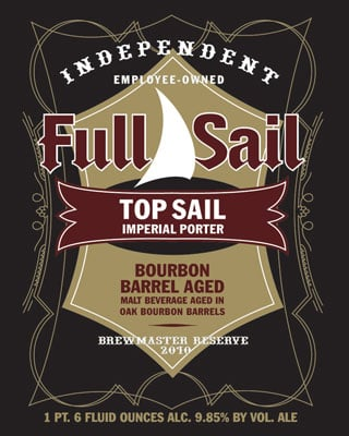 Top Sail Bourbon Barrel Porter