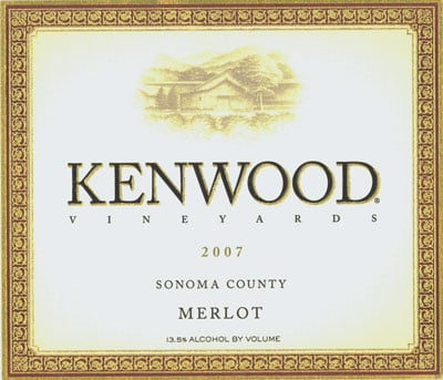 Kenwood Vineyards Merlots