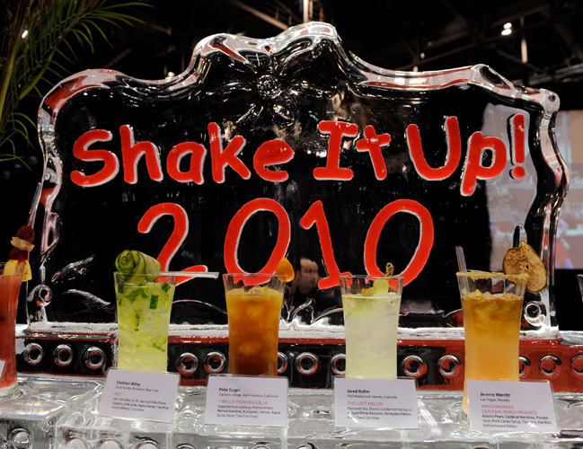Shake It Up cocktails