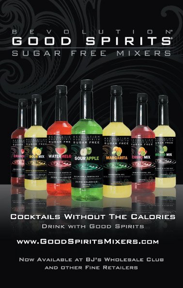 Good Spirits Sugar Free mixers