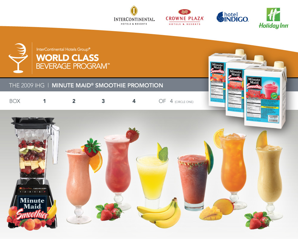 IHG smoothie kit