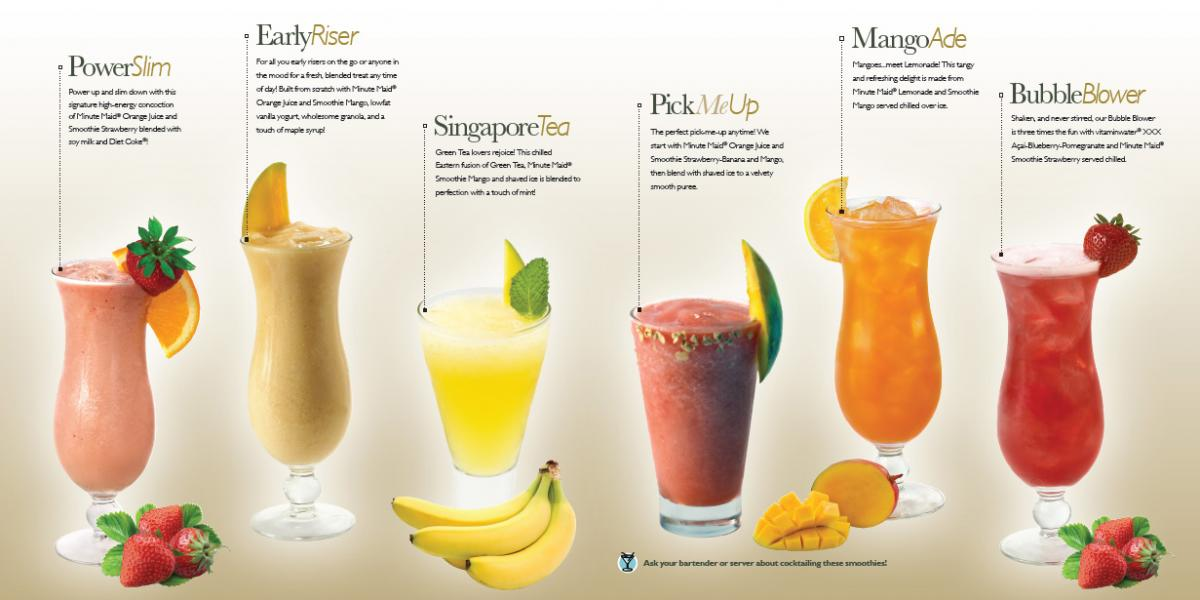 IHG Signature Smoothies