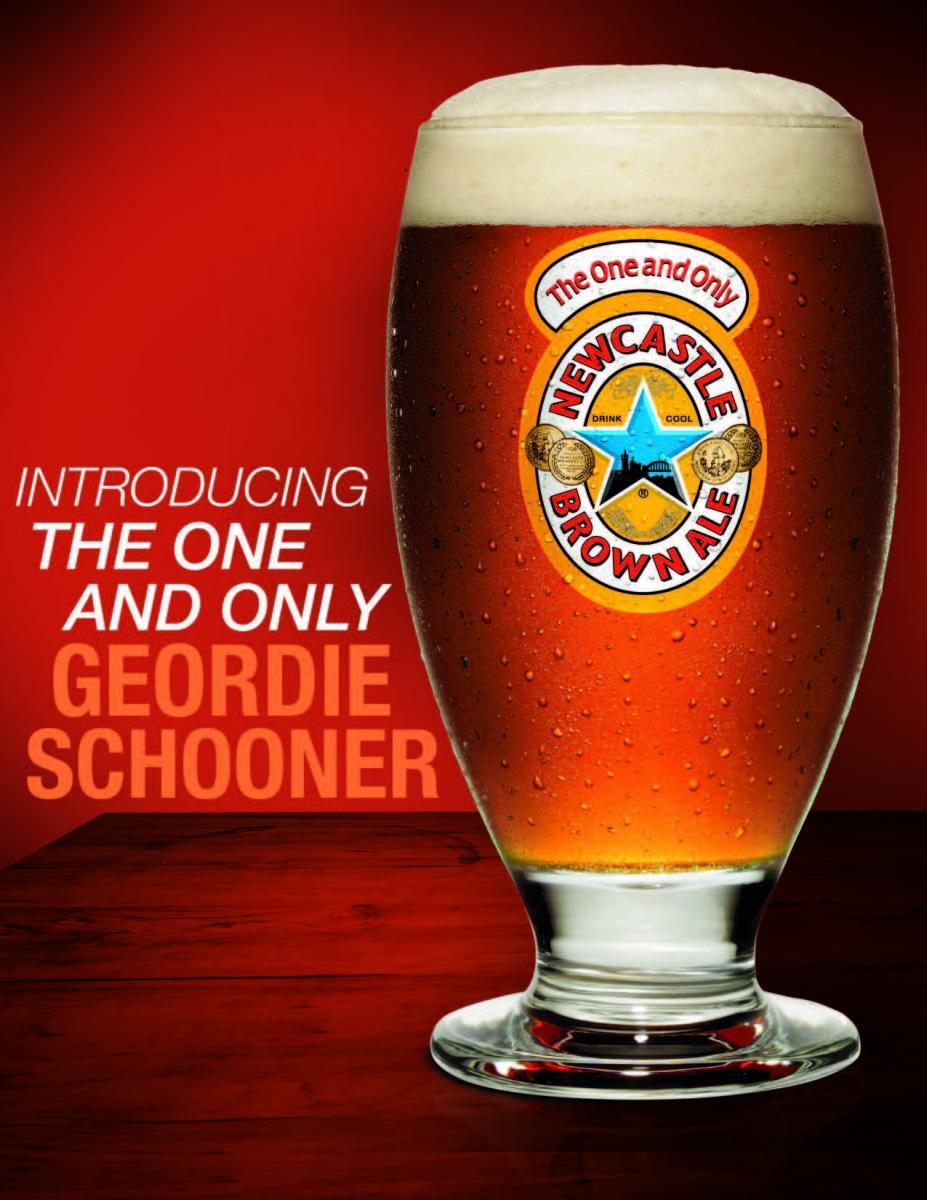 Newcastle Geordie Schooner
