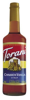 Torani Cinnamon Vanilla