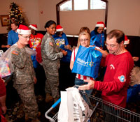 Holiday Meals for military families