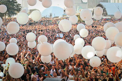 Ultra Music Festival crowd
