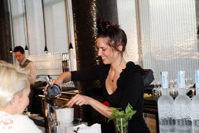 Allison Dedianko at the bar
