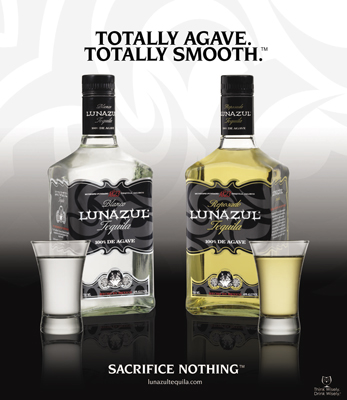 Lunazul 100% Agave Tequila