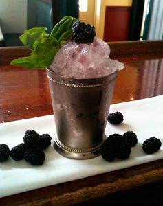Blackberry Basil Smash