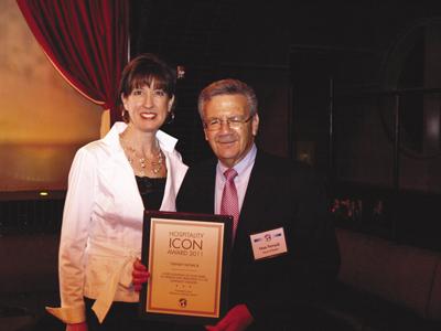 Stan Novack and Donna Hood Crecca