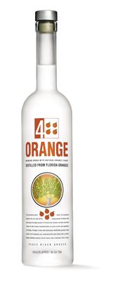4 Orange Premium Vodka