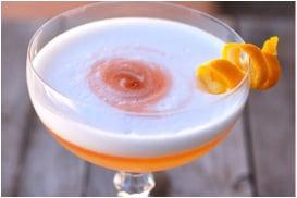 Orange Pisco Sour