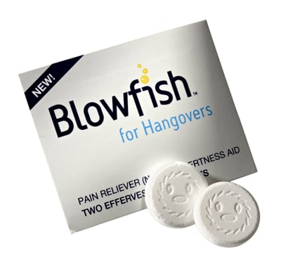 Blowfish Hangover tablets