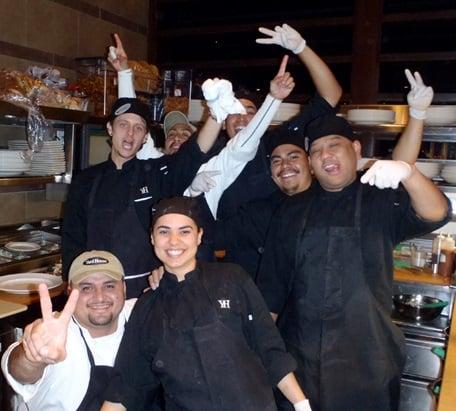Yard House Kitchen Staff