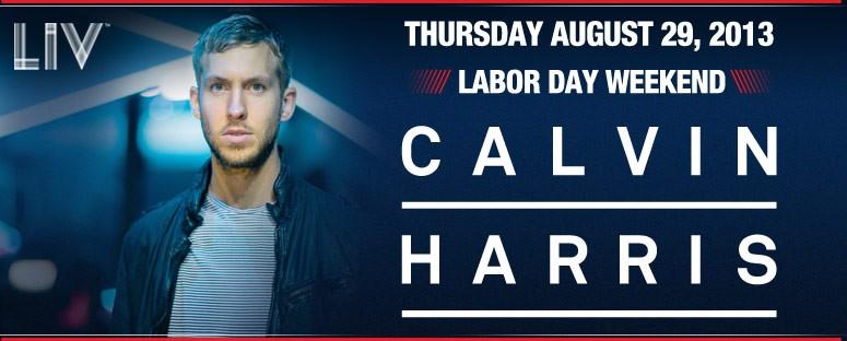 Calvin Harris at LIV