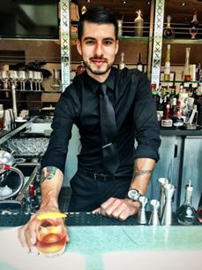 Aaron Alvarez - Nightclub & Bar's September Bartender of the Month