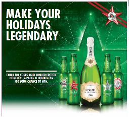 Heineken Holiday Promotion