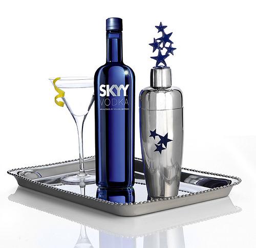 SKYY Vodka Shaker