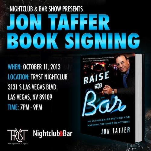 Jon Taffer Book Signing in Las Vegas