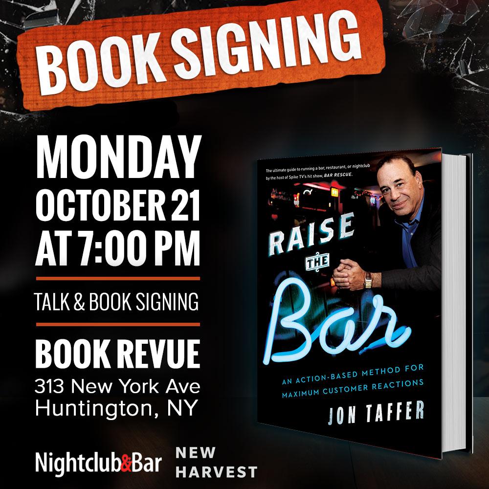 Jon Taffer Book Signing