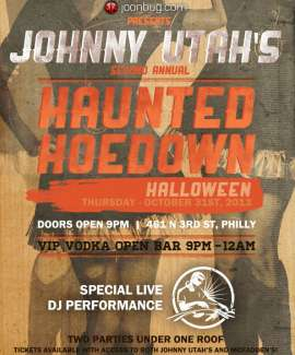 Johnny Utah's Haunted Howdown