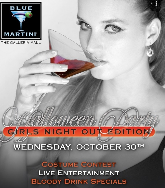Blue Martini's Halloween Girls Night Out