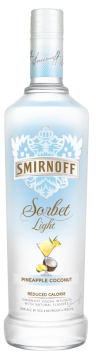Smirnoff Light Pineapple Coconut