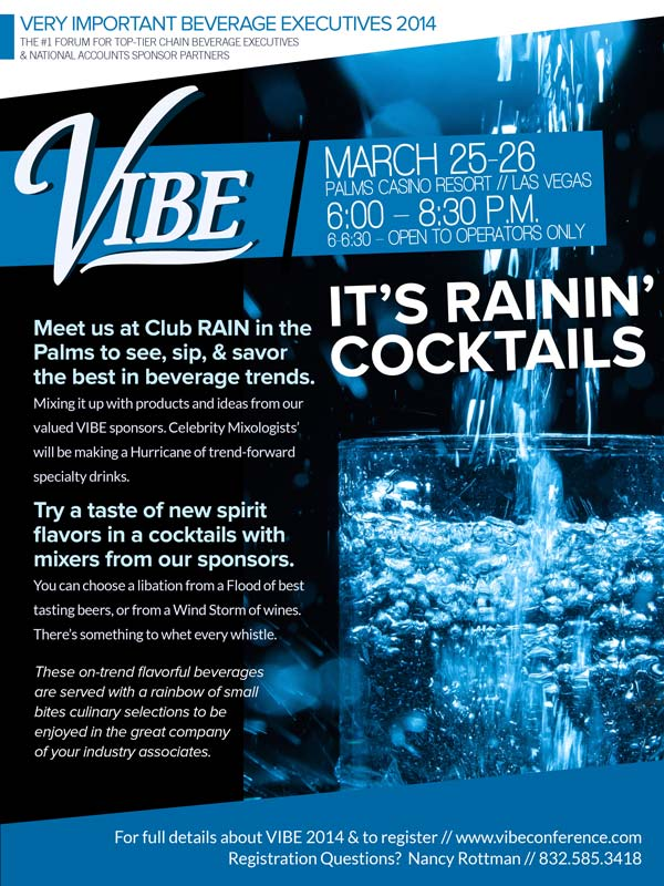 Rain Cocktail Party at VIBE