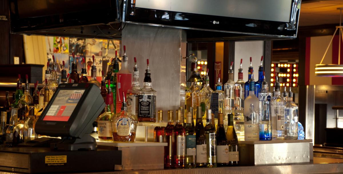 how to set up your back bar