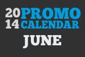 2014 June Promo Calendar