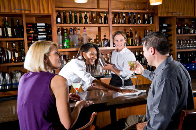 Customer Service at a bar or restaurant