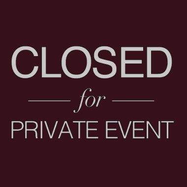 Private Event / Private Party