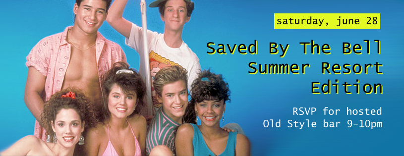 90's summer party at Beauty Bar in Chicago